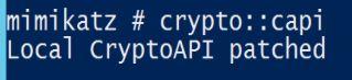 Mimikatz-Crypto-CAPI