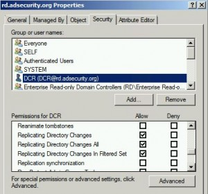DCE/RPC – Active Directory Security