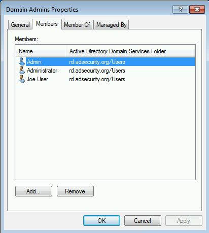 SneakyADPersistence-AdminSDProp-BobaFett-Add-JoeUser-DomainAdminsGroup-02