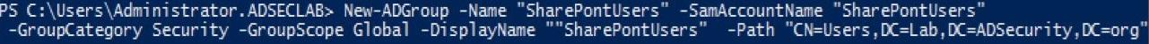 FGPP-NewADGroup-SharePontUsers