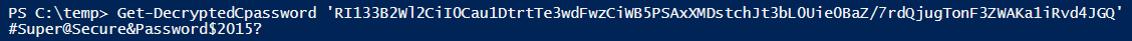 解密GPP中的密码