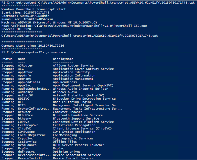 PowerShellv5-Security-ScriptBlockLogging-System-Wide-Transcripts