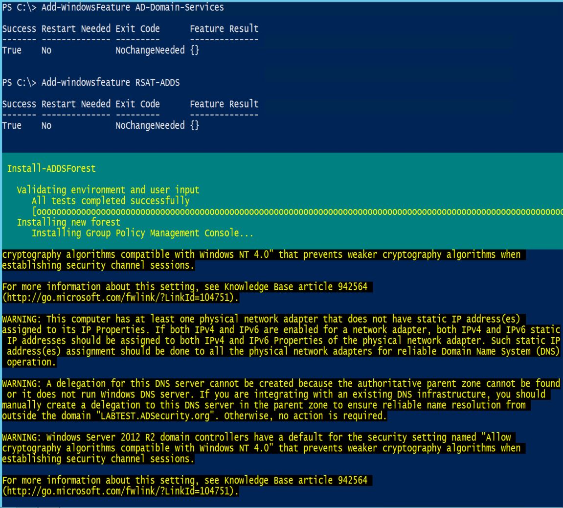 Building an Effective Active Directory Lab Environment for