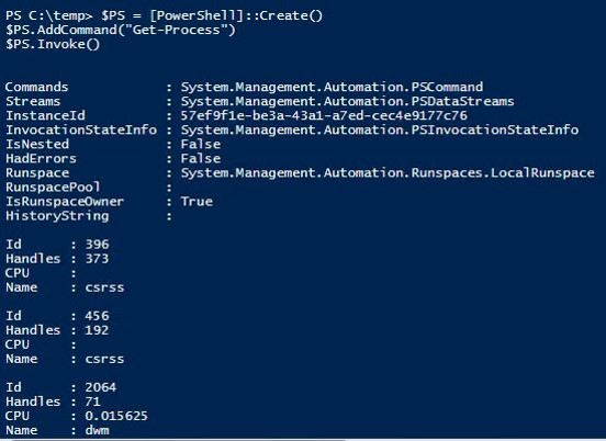PowerShell-NotEXE-DLL