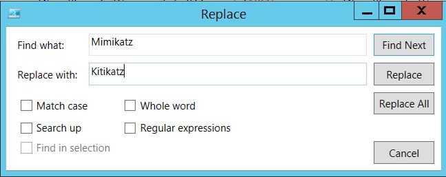 PowerShell-Replace-Mimikatz-With-KitiKatz