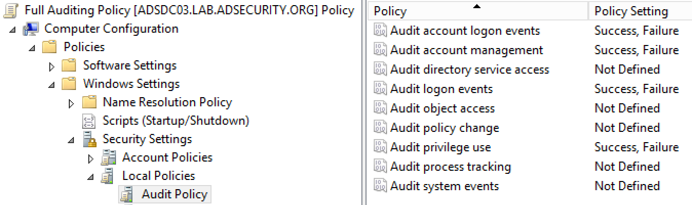 Securing Domain Controllers to Improve Active Directory