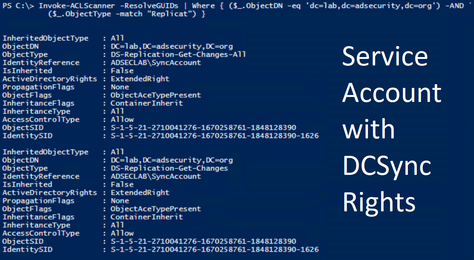 Scanning for Active Directory Privileges & Privileged Accounts
