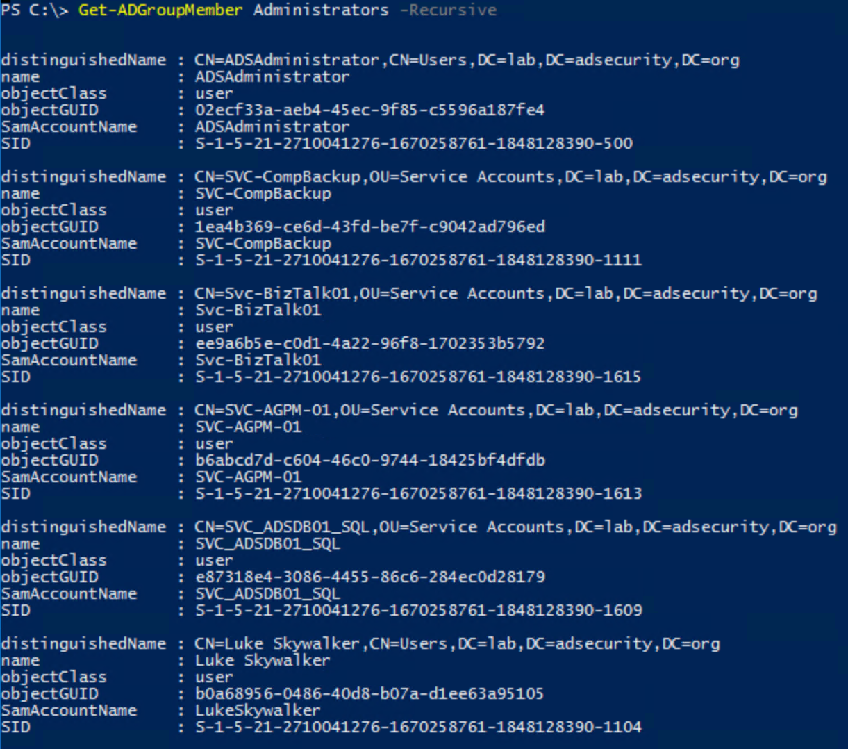 Active Directory Security – Page 2 – Active Directory