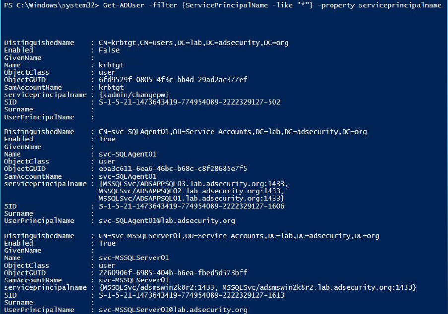 《Gathering AD Data with the Active Directory PowerShell Module》