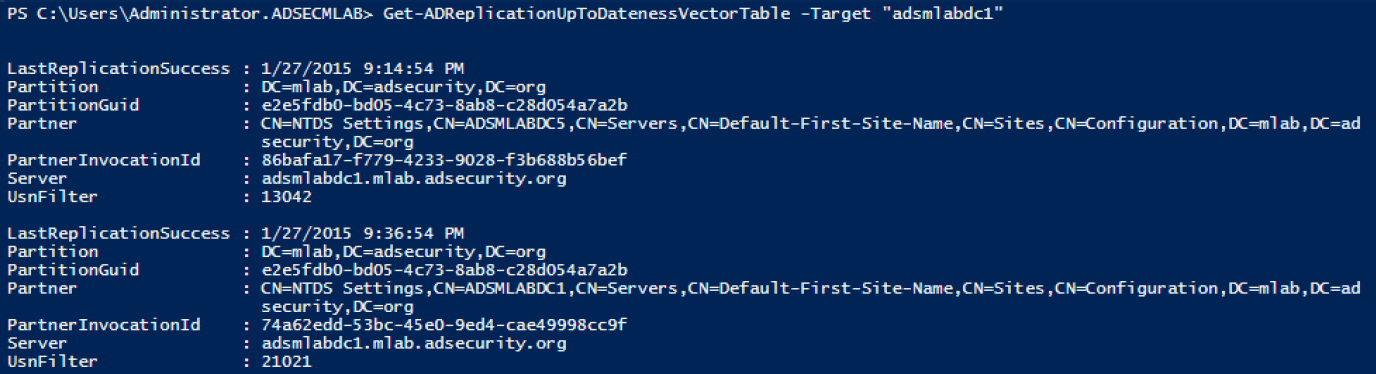 Gathering AD Data with the Active Directory PowerShell