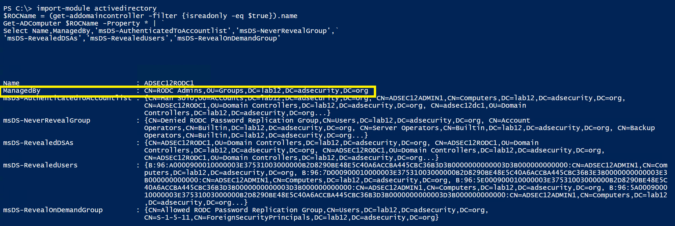 《Attacking Read-Only Domain Controllers (RODCs) to Own Active Directory》